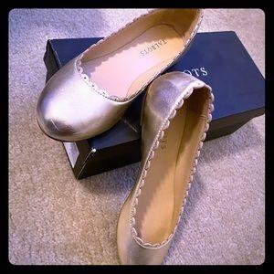 Talbots Penelope Scallop-edge Shoe
